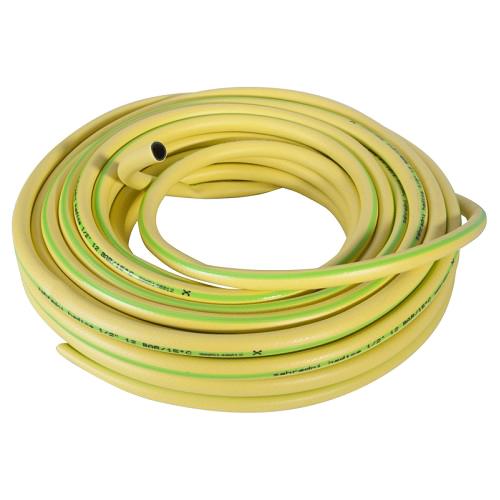 """Hadice zahradní 1/2"""" / 25m žlutozelená, černá duše"""