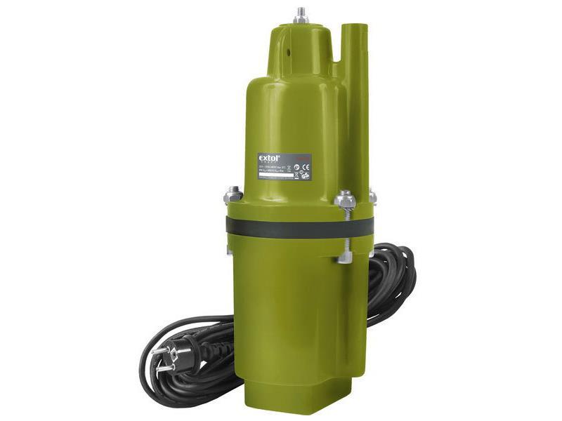 Čerpadlo membránové hlubinné ponorné, 600W, 2000l/hod, 20m, EXTOL CRAFT, 414176