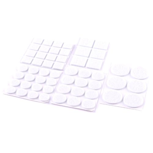 Podložka filcová TES 108351 bílá 56ks