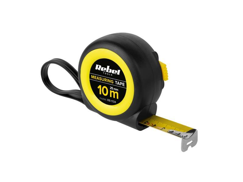 Metr svinovací 10m REBEL RB-1134 25mm