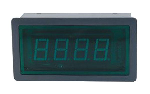 Panelové měřidlo 10A WPB5135-DC ampérmetr panelový digitální
