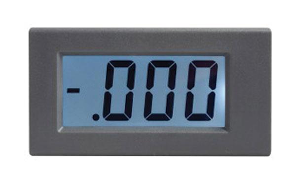 STUALARM Panelové měřidlo 199,9mV WPB5035-DC voltmetr panelový digitální