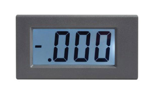 STUALARM Panelové měřidlo 199,9V WPB5035-DC voltmetr panelový digitální