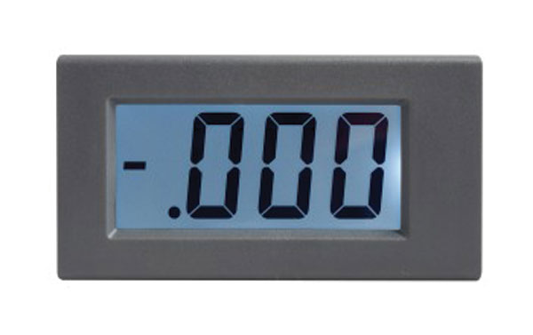Panelové měřidlo 1A WPB5035-DC ampérmetr panelový digitální