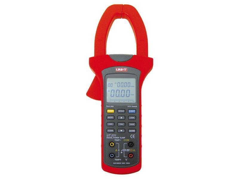 Klešťový multimetr UNI-T  UT231 wattmetr