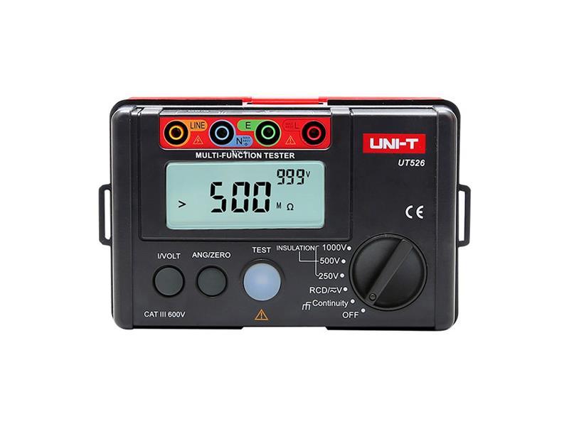 UNI-T Tester multifunkční UT526