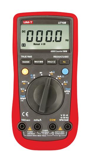 UNI-T UT108 Digitální multimetr