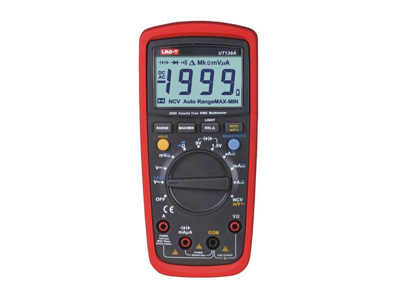 Multimetr UNI-T  UT139A