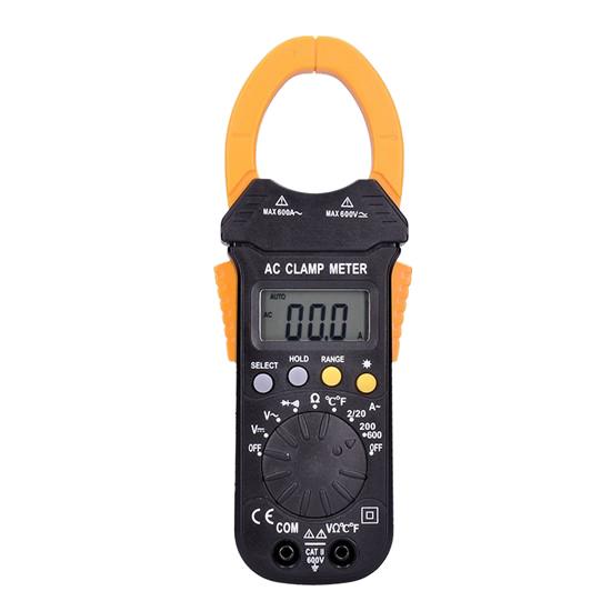 Klešťový multimetr SOLIGHT V50
