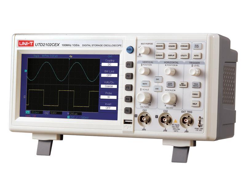 UNI-T Osciloskop UTD2102CEX