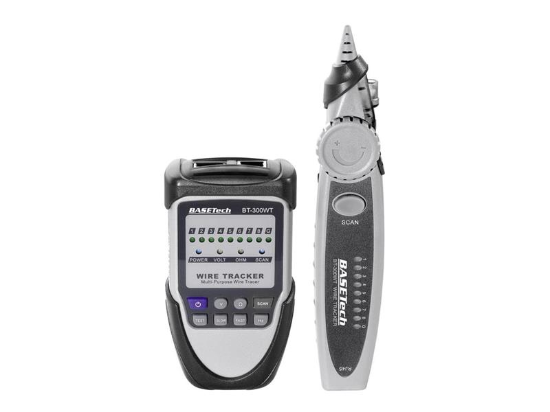 Detektor kabelů Basetech BT-300 WT