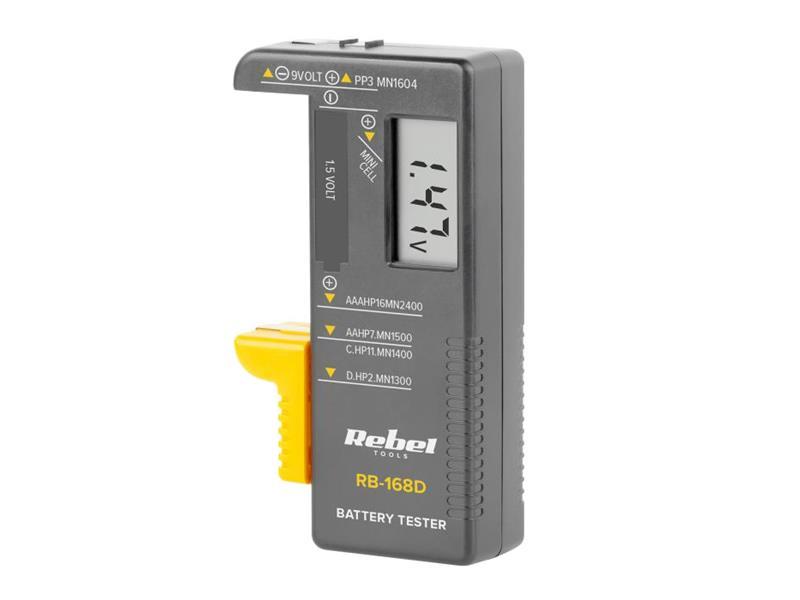 Tester baterií REBEL RB-168D
