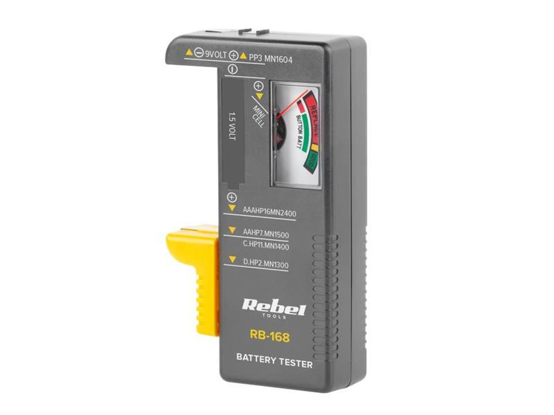 Tester baterií REBEL RB-168