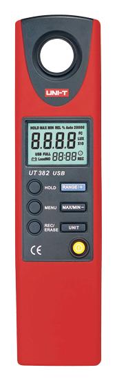 Luxmetr UNI-T  UT382 USB