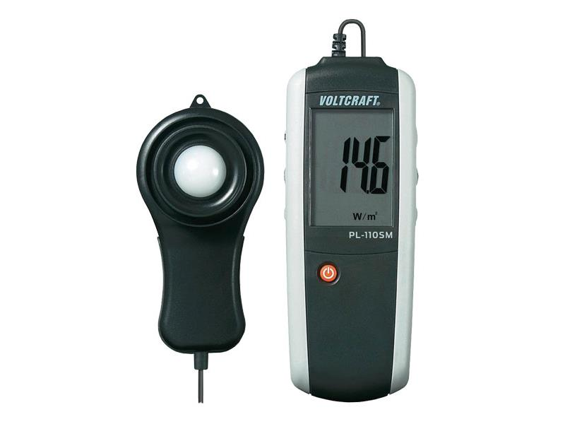 Měřič intenzity slunečního záření Voltcraft PL-110 SM