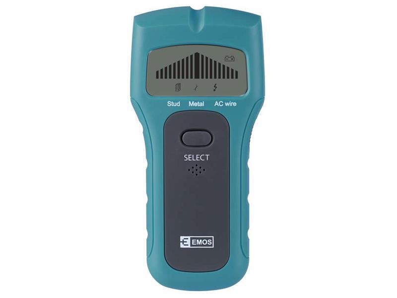 Detektor kovů a elektrických vedení EMOS M0501
