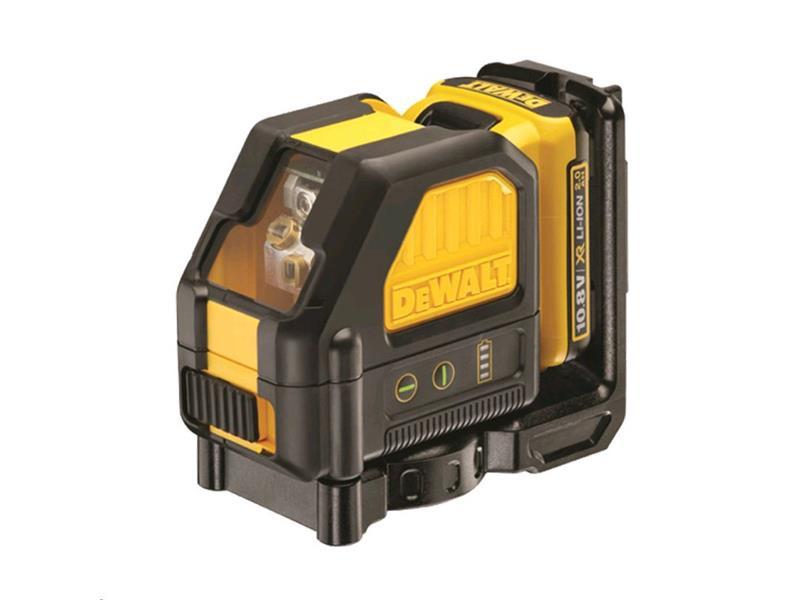 Laser křížový DEWALT DCE088D1G samonivelační