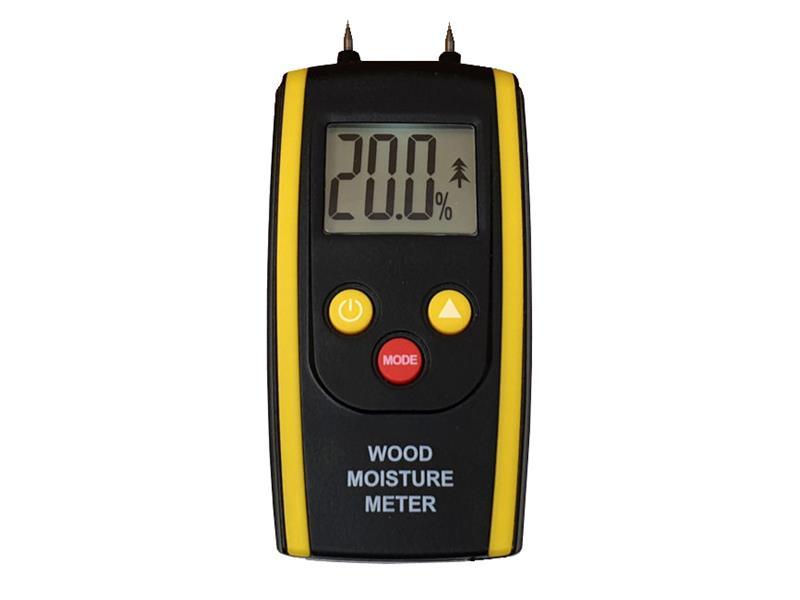 Měřič vlhkosti dřeva a zdiva HUTERMANN HM-610 s teploměrem