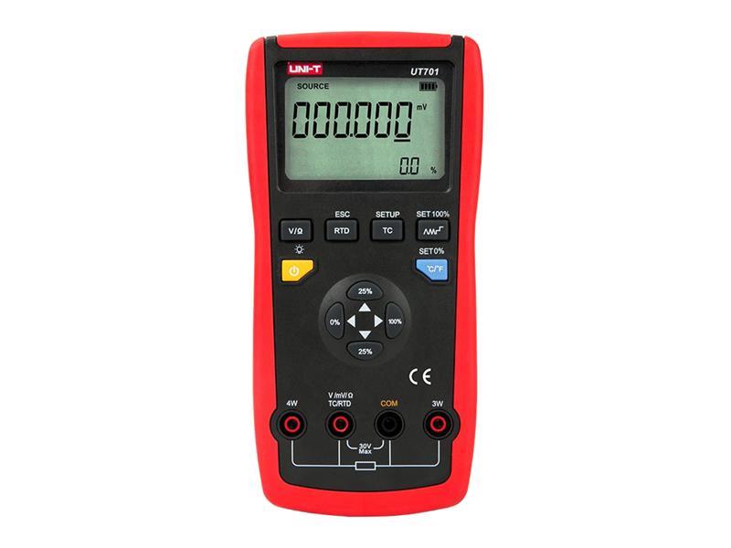 Simulátor termočlánků pro kalibraci teploty UNI-T UT701