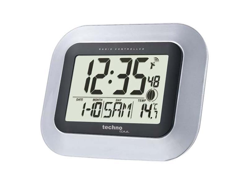 Digitální nástěnné DCF hodiny Techno Line WS 8005