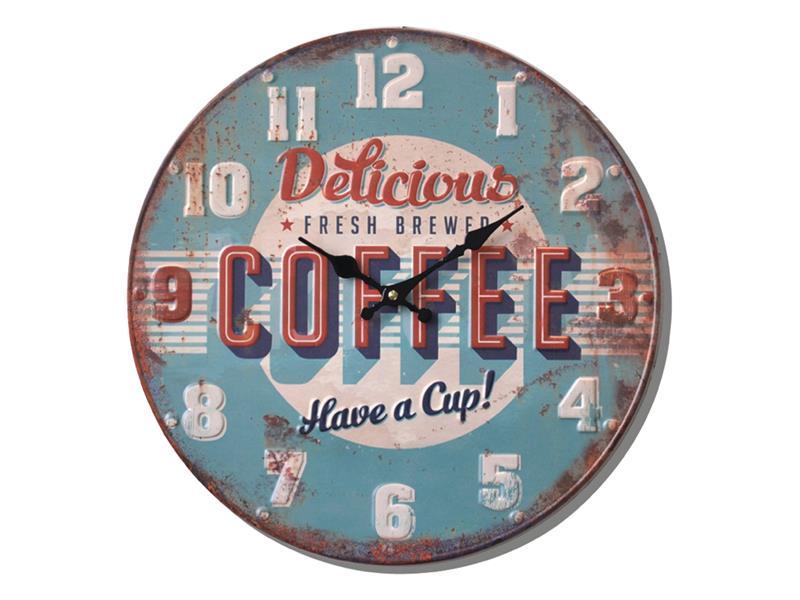 Hodiny analogové BALANCE COFFEE 40 cm