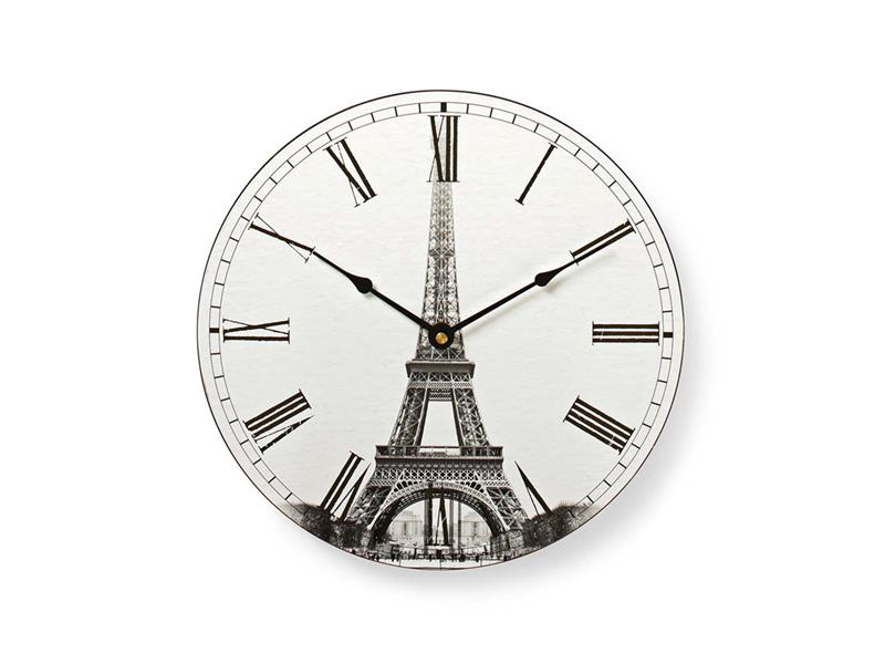 Hodiny analogové NEDIS PARIS 30 cm