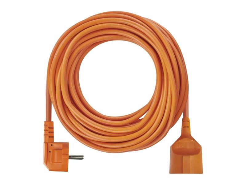 Prodlužovací kabel - spojka 25m oranžový