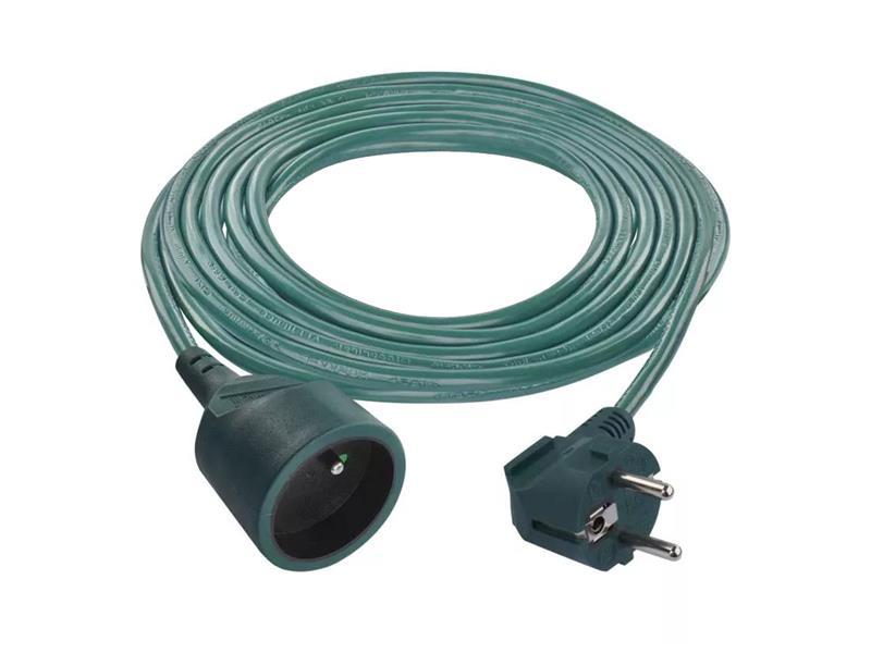 Prodlužovací kabel - spojka  5m zelená