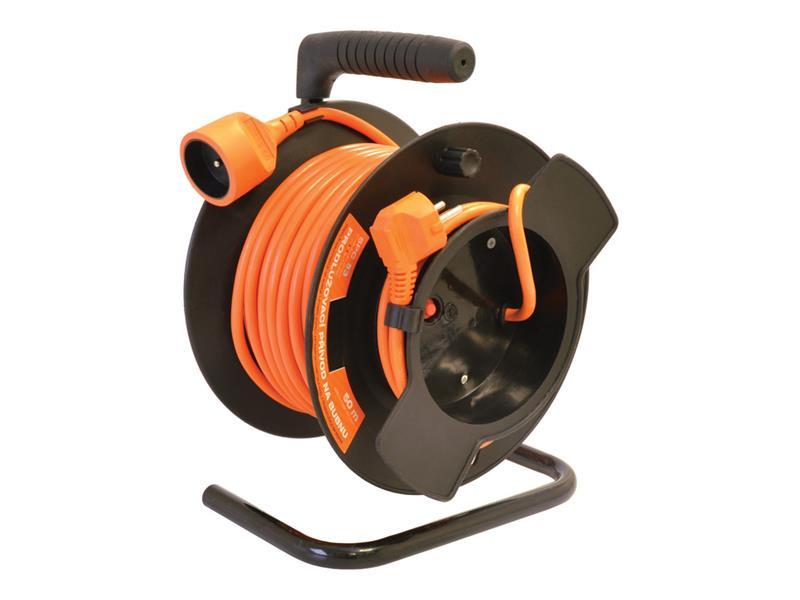 Prodlužovací kabel na bubnu KF-FBGY-24 50m