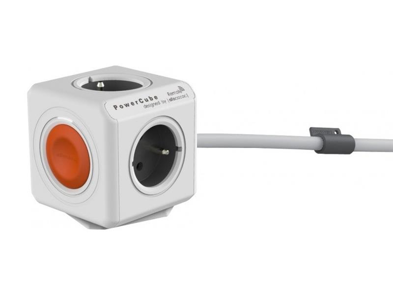 PowerCube Extended Remote Single White