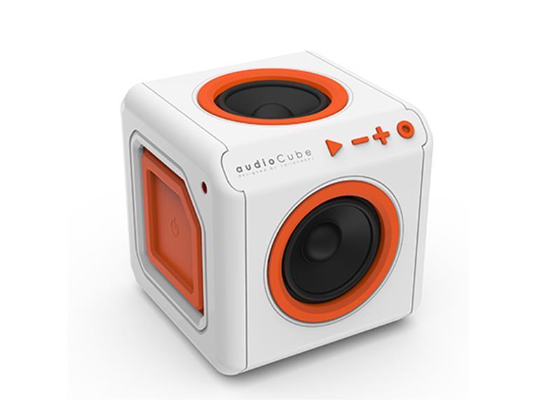 PowerCube audioCube bílá