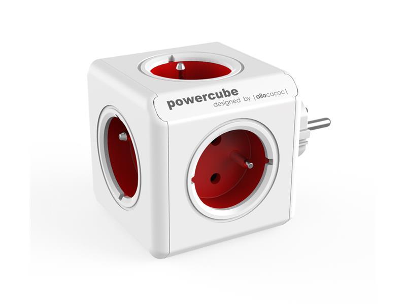 Zásuvka POWERCUBE ORIGINAL RED