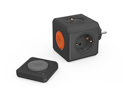 Zásuvka PowerCube ORIGINAL REMOTE SET černá