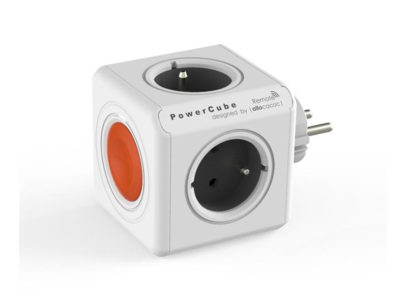 Zásuvka PowerCube ORIGINAL REMOTE SINGLE bílá