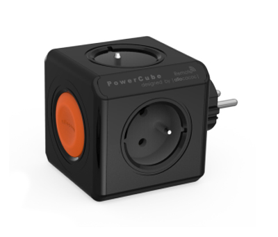 Zásuvka POWERCUBE ORIGINAL REMOTE SINGLE BLACK