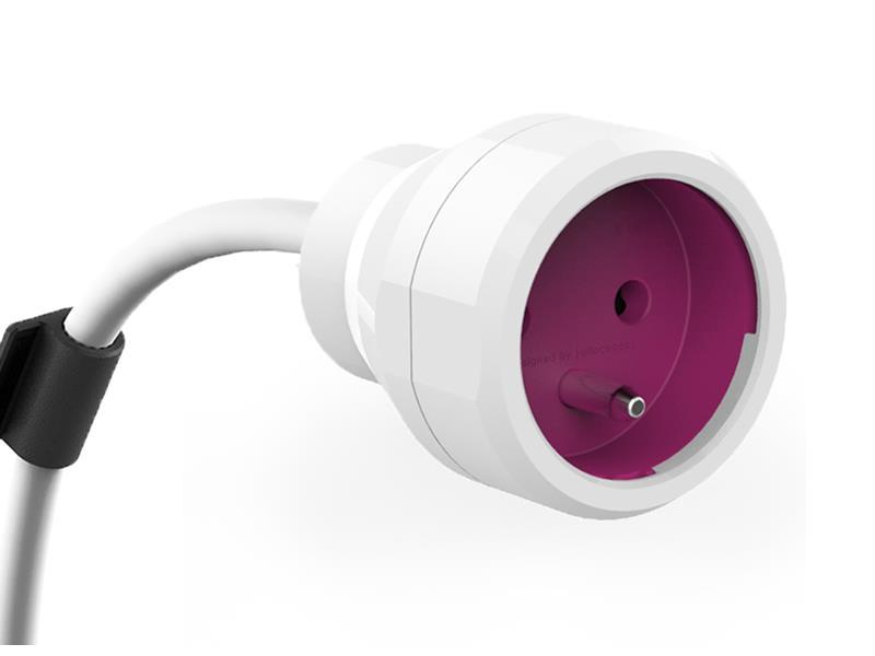 Kabel prodlužovací PowerCube POWER EXTENSION 3m fialový