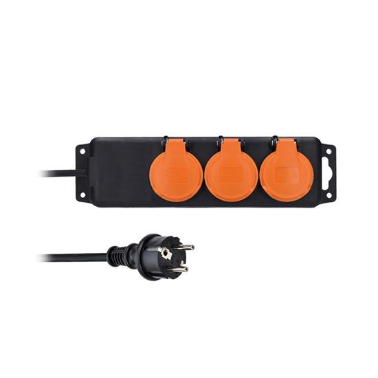 Prodlužovací přívod 3 zásuvky  3m SOLIGHT PP322