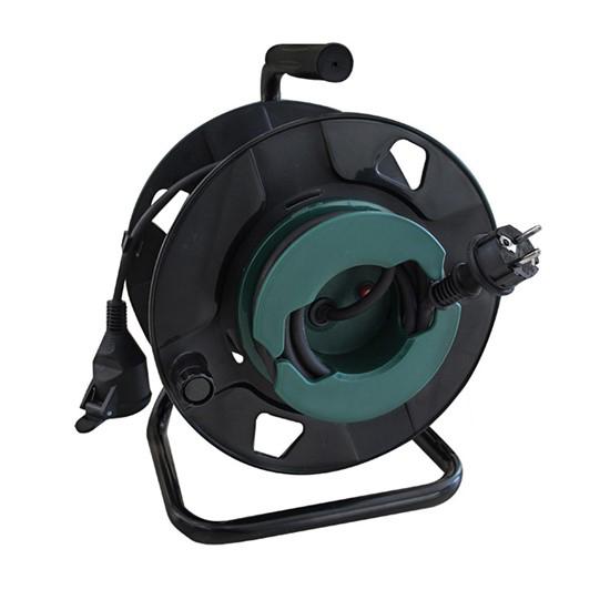 Prodlužovací kabel na bubnu - 1 zásuvka 50m SOLIGHT PB31