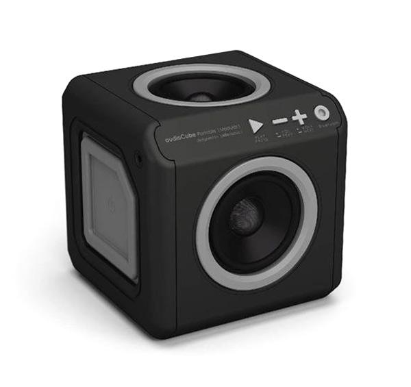 Reproduktor Bluetooth AudioCube Portable Modular Black