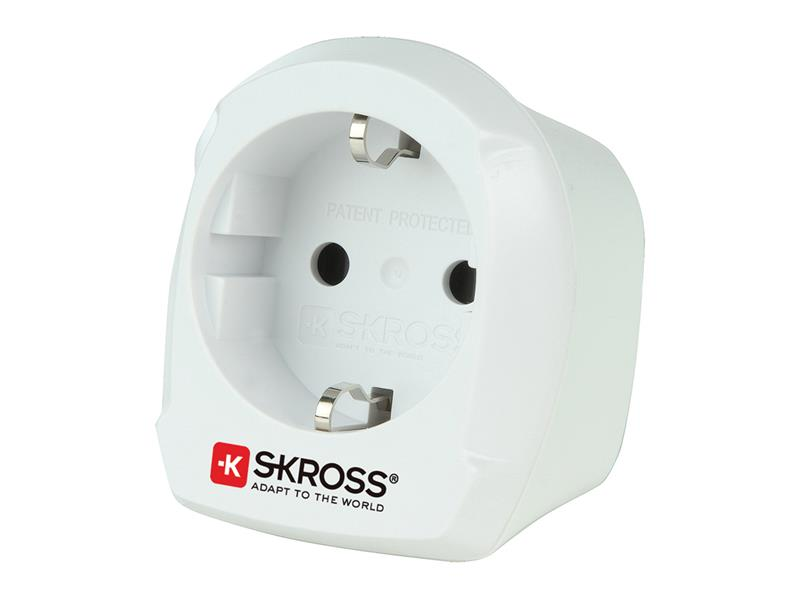 Adaptér cestovní SKROSS SKR1500230E z ČR pro použití ve Velké Británii