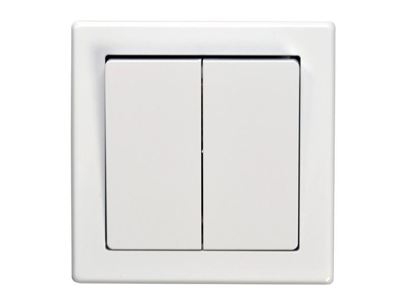 Vypínač Jowa č. 5 sériový - lustrový bílý