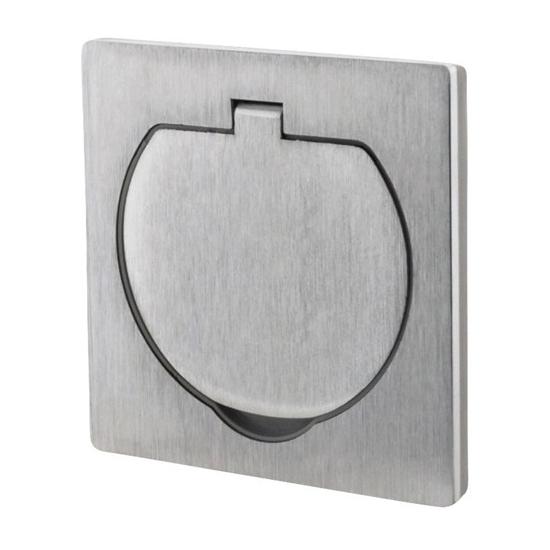 Zásuvka vestavná podlahová, IP55