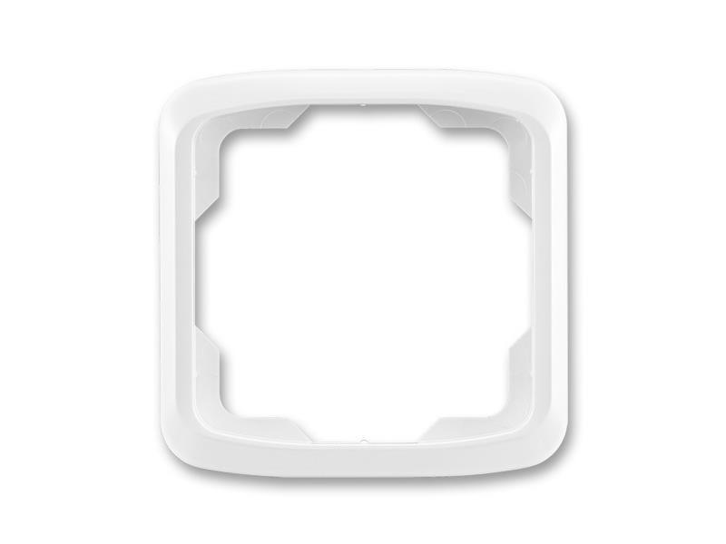 Rámeček ABB TANGO 3901A-B10 B jednonásobný WHITE