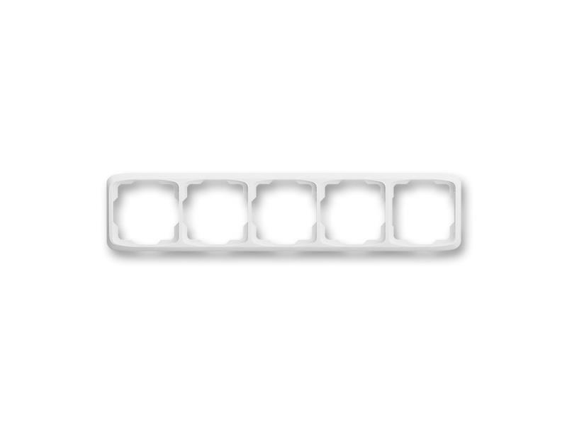 Rámeček ABB TANGO 3901A-B50 B pětinásobný WHITE