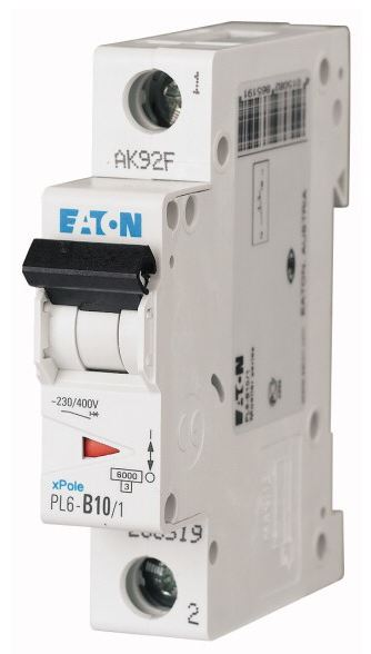 Jistič EATON 10A PL6-B10/1