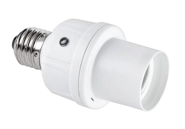 Objímka se stmívacím senzorem E27