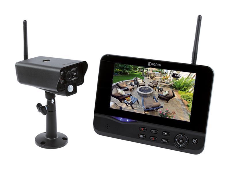 """Kamera set KÖNIG SAS-TRANS60 7"""" LCD analog"""
