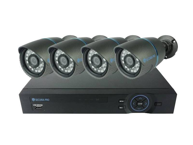 AHD Kamera set DVR + 4x HD ROC9712 CMOS
