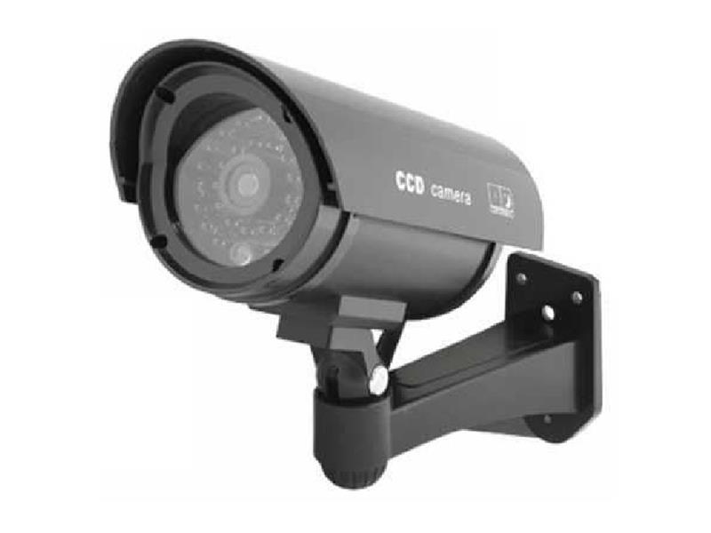Atrapa kamery IR CCD, venkovní, černá
