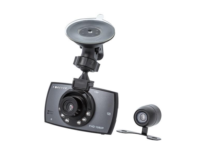 """Kamera do auta Full HD FOREVER VR-200, 2.7"""" + zadní kamera"""